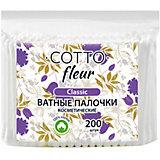 Ватные палочки Cotto Fleur classic, 200 шт