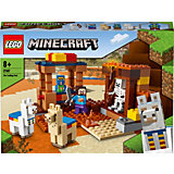 Конструктор LEGO Minecraft 21167: Торговый пост