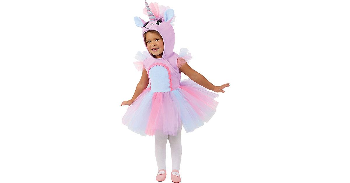 Kostüm Pastel Unicorn 12-18M pastellrosa Gr. 80/86 Mädchen Kleinkinder