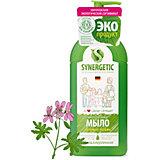 Мыло жидкое биоразлагаемое для мытья рук и тела Synergetic Луговые травы, 500 мл