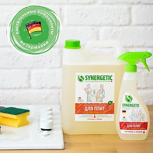 Гель чистящий для кухонных плит и поверхностей Synergetic, 1 л