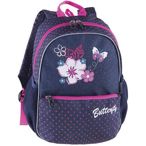 Рюкзак Pulse Junior XL Flowers Butterfly - разноцветный от Pulse