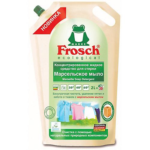 Жидкое средство для стирки Frosch Марсельское мыло, 2 л