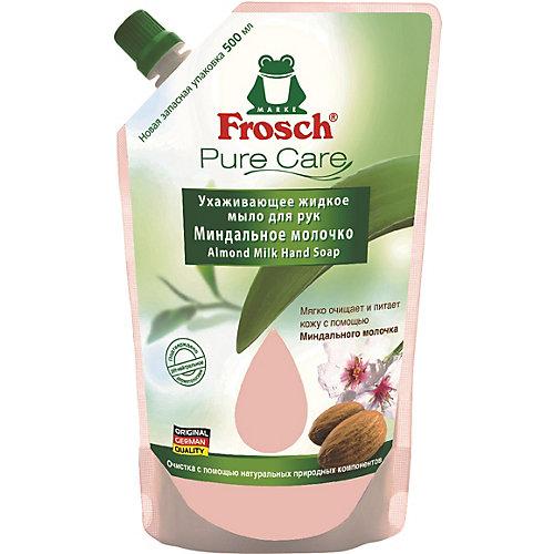 Жидкое мыло для рук Frosch Миндальное молочко, 500 мл
