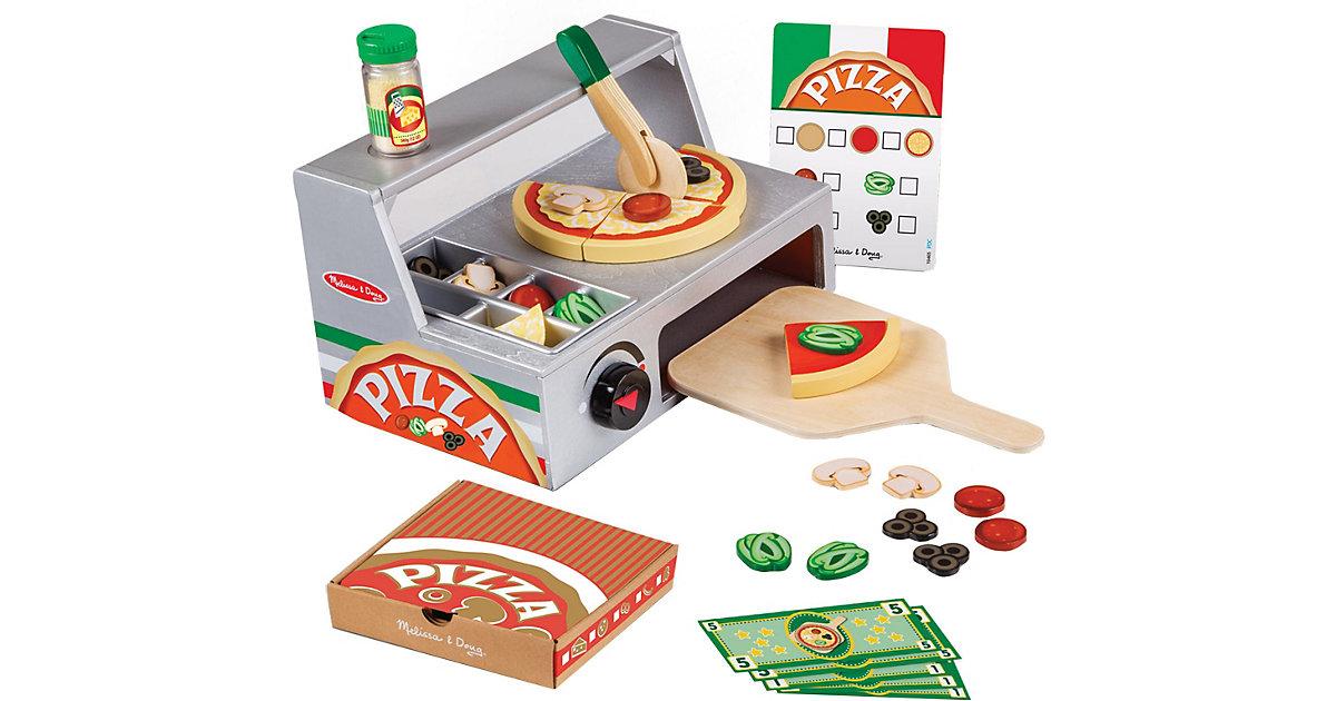 Pizzatheke aus Holz