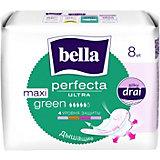 Прокладки Bella Perfecta Ultra Maxi Green супертонкие, 8 шт, new