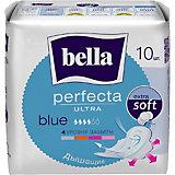 Прокладки Bella Perfecta Ultra Blue супертонкие, 10 шт, new design