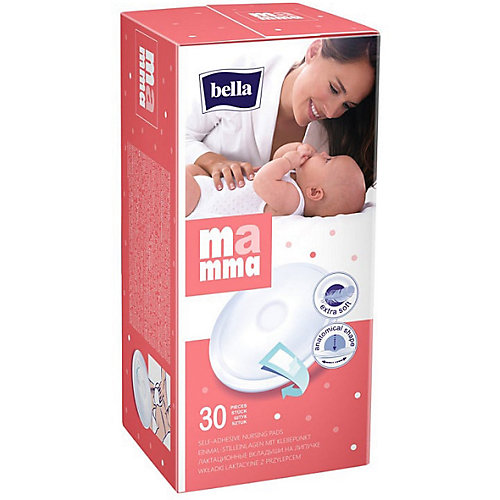 Вкладыши для груди Bella Mamma для периода вскармливания, 30 шт от Bella
