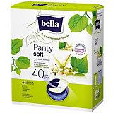 Ежедневные прокладки Bella Panty Herbs Tilia с экстрактом липового цвета, 40 шт
