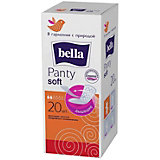 Ежедневные прокладки Bella Panty Soft , 20 шт