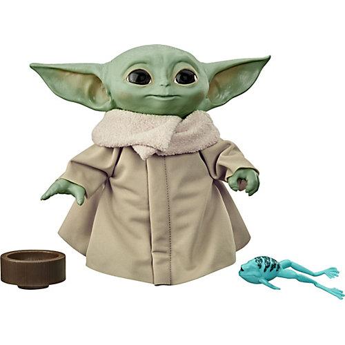Интерактивная мягкая игрушка SW Mandalorian The Child Talking Plush, 19 см от Hasbro