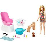 """Игровой набор Barbie """"Мода"""" Маникюр и педикюр"""