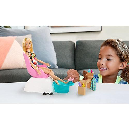 """Игровой набор Barbie """"Мода"""" Маникюр и педикюр от Mattel"""