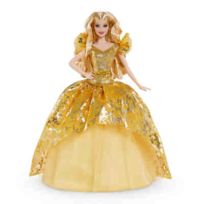Barbie Signature Holiday Barbie Puppe (blond)