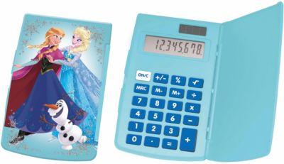 Disney Die Eiskönigin Taschenrechner blau