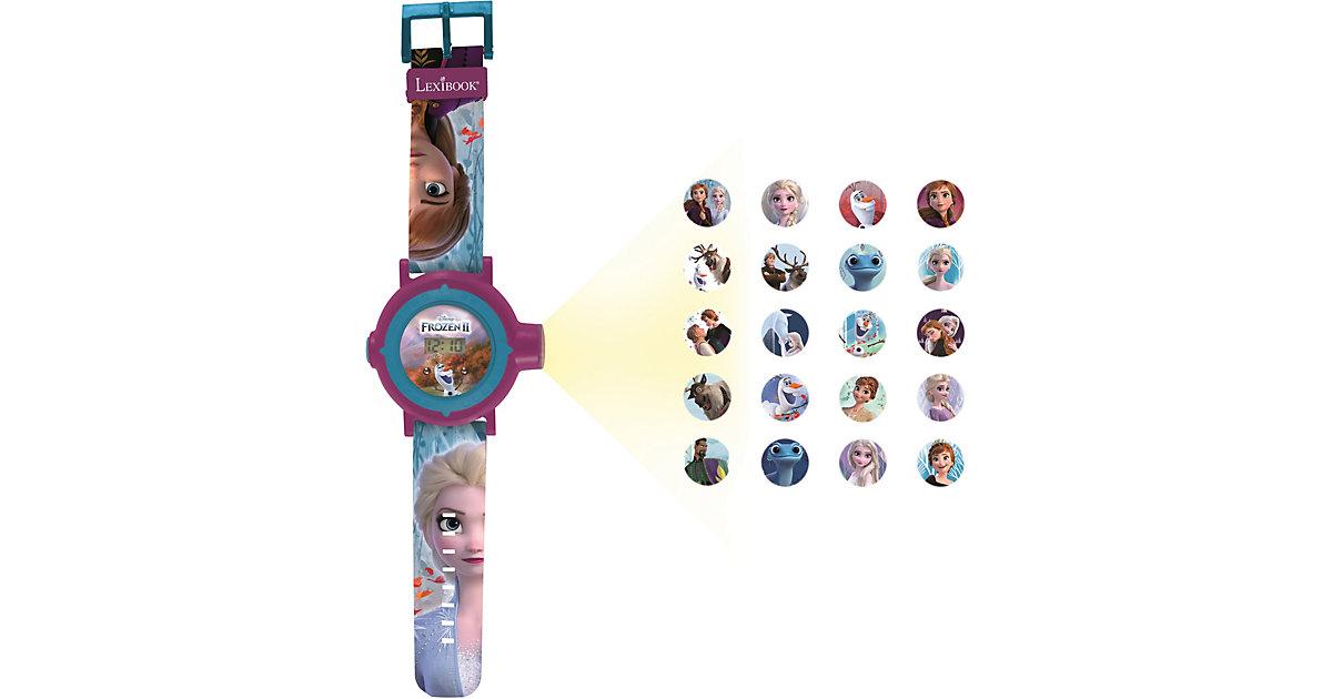 Disney Die Eiskönigin Digitaluhr mit 20 Projektionen blau/lila