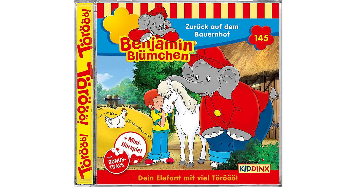 CD Benjamin Blümchen 145 - Zurück auf dem Bauernhof Hörbuch