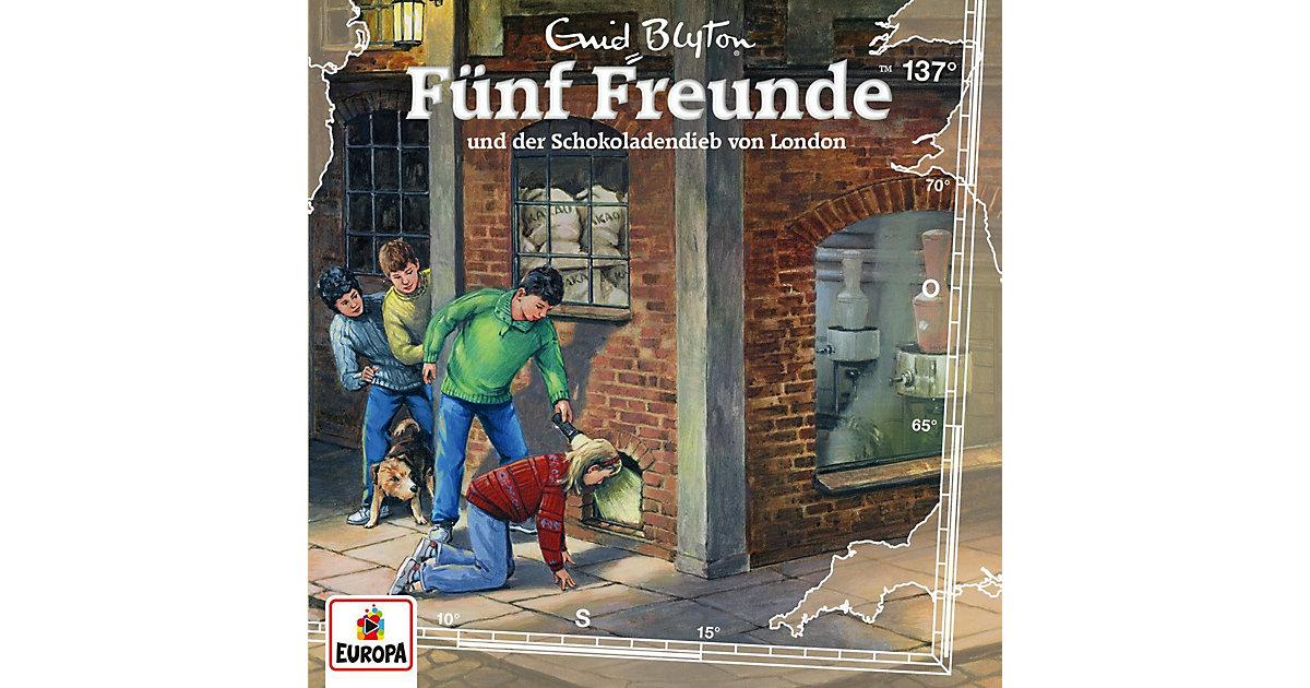 CD Fünf Freunde 137 - und der Schokoladendieb von London Hörbuch