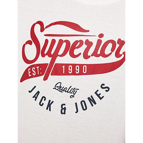 Футболка Jack & Jones Junior - грязно-белый от JACK & JONES Junior