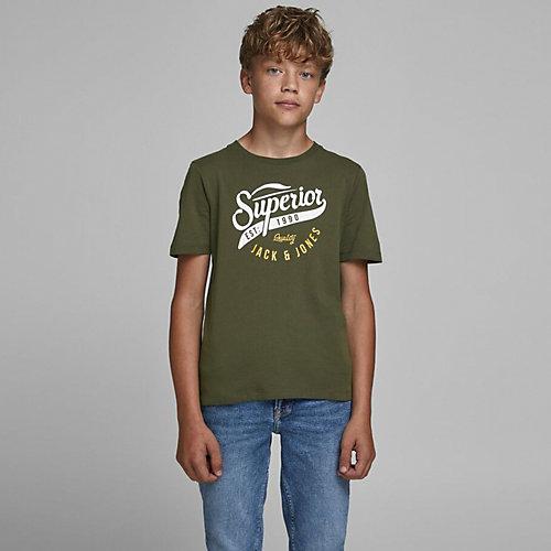 Футболка Jack & Jones Junior - темно-зеленый от JACK & JONES Junior