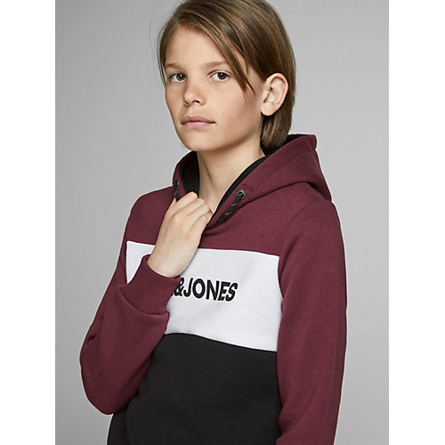 Худи Jack & Jones Junior - темно-красный от JACK & JONES Junior