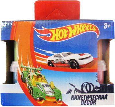 Кинетический песок Centrum Hot Wheels, 4 цвета