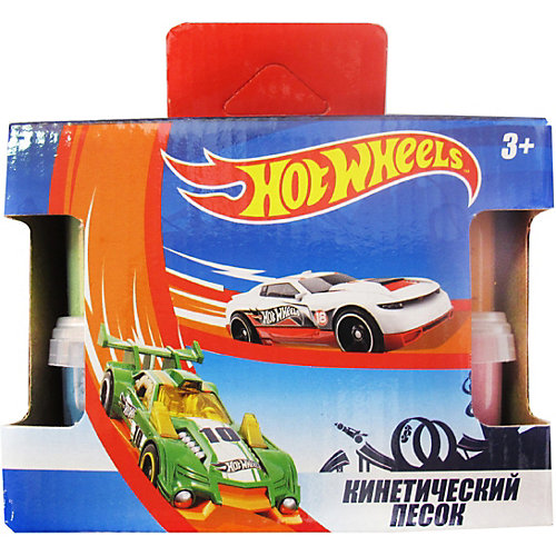 Кинетический песок Centrum Hot Wheels, 4 цвета от CENTRUM