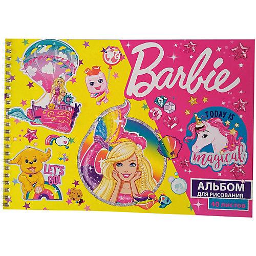 Альбом для рисования Centrum Barbie, 40 листов, А4 от CENTRUM