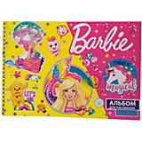 Альбом для рисования Centrum Barbie, 40 листов, А4