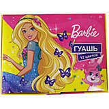 Гуашь Centrum Barbie, 12 цветов