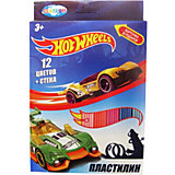 Пластилин Centrum Hot Wheels, 12 цветов