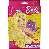 Пластилин Centrum Barbie, 12 цветов