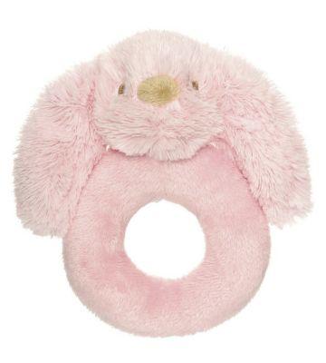 Lolli Häschen Rassel 14 cm [rosa] Rasseln