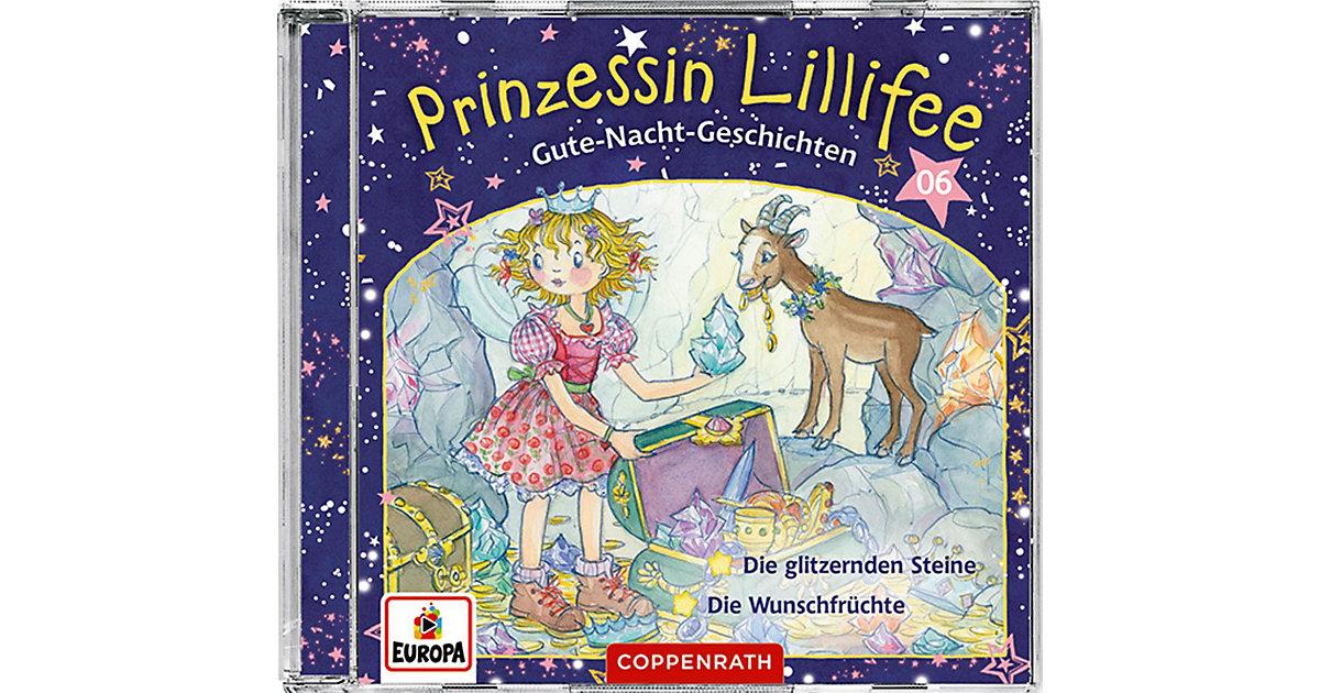 CD Prinzessin Lillifee - Gute-Nacht-Geschichten (CD 6) Hörbuch