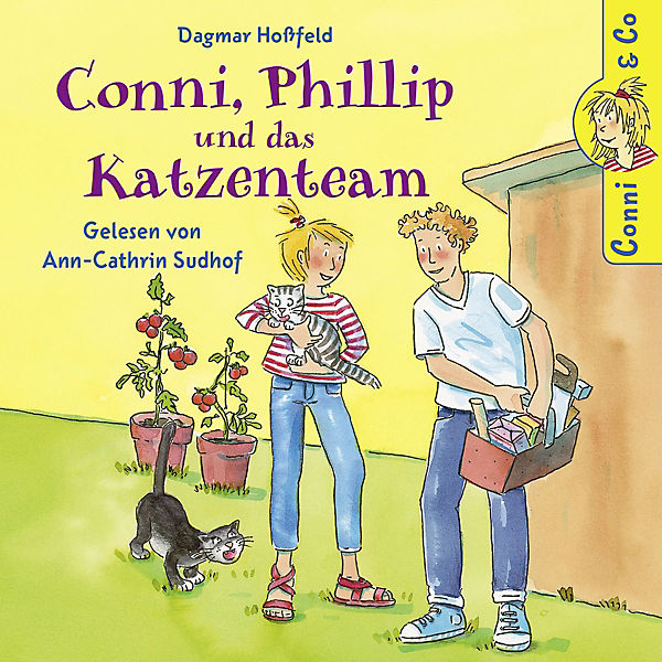 Conni & Co Bd.16 - Conni, Philllip und das Katzenteam (1 Audio-CD)