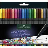 Набор капиллярных ручек Faber-Castell Grip finepen, 20 цветов