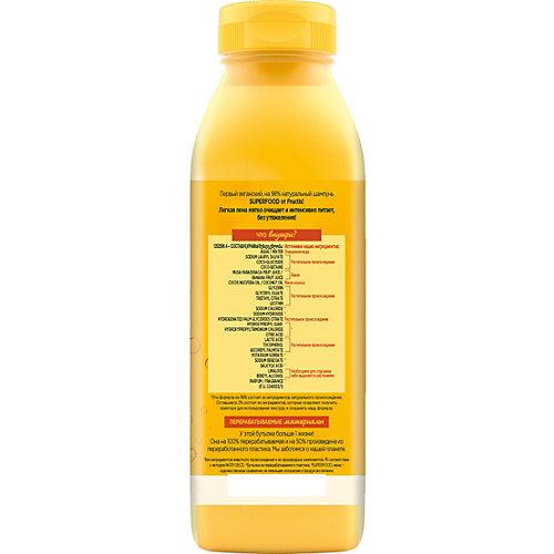 Шампунь для волос Garnier Fructis Superfood Банан, 350 мл
