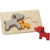 Рамка-вкладыш Plan Toys Собачки