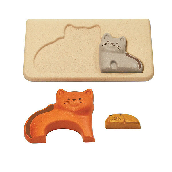 Rahmenpuzzle Katzen, PLANTOYS RbGhwU