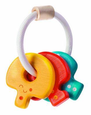 Babies Rassel Babyschlüssel Rasseln mehrfarbig