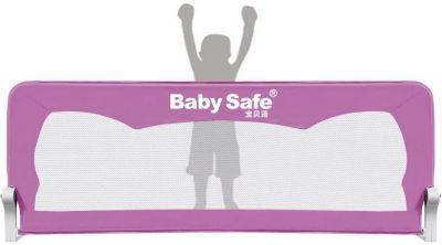 Барьер для кроватки Baby Safe Ушки, 120х66 розовый — Барьер для кроватки Baby Safe Ушки, 120х66