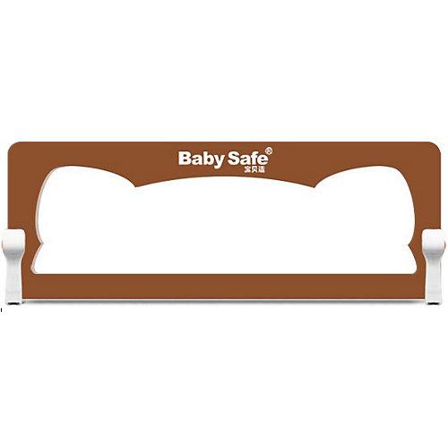 Барьер для кроватки Baby Safe Ушки, 180х42 коричневый от Baby Safe