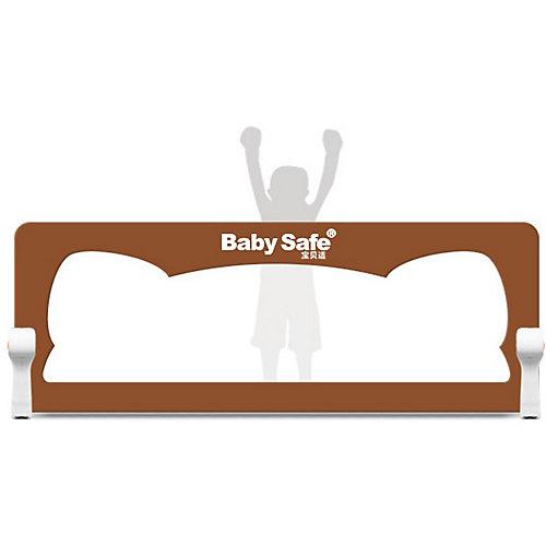 Барьер для кроватки Baby Safe Ушки, 150х66 бежевый от Baby Safe