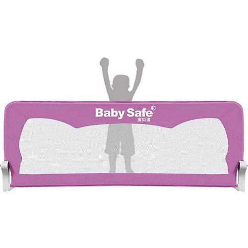 Барьер для кроватки Baby Safe Ушки, 180х66 розовый от Baby Safe