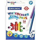 Фломастеры Brauberg Premium, 24 цвета
