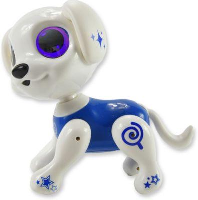 Robo Smart Puppy - Interaktiver Hund rot/schwarz schwarz/rot