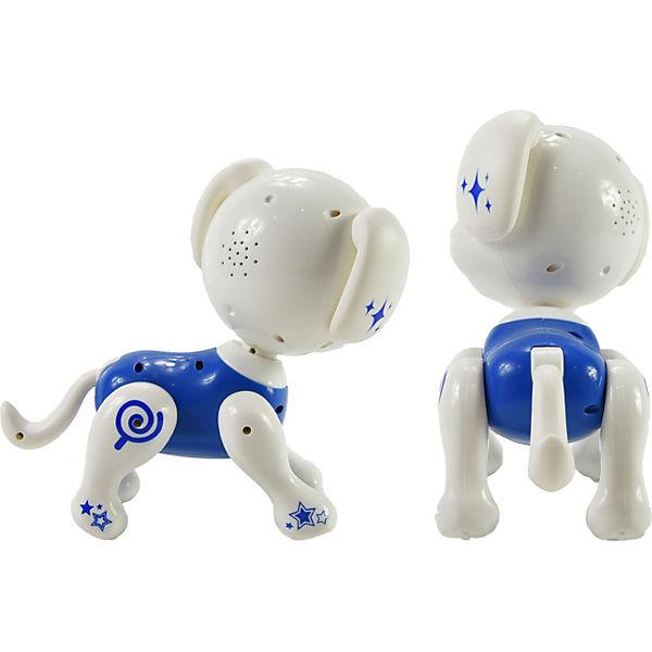 Robo Smart Puppy - Interaktiver Hund rot/schwarz, Gear2Play PG1WhF