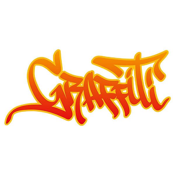 Wandtattoo Graffiti Schriftzug Modern Dekodino Mytoys