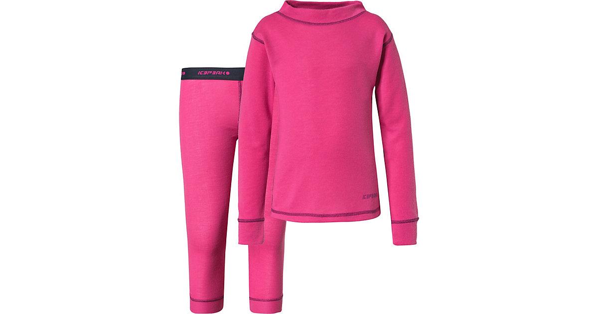 Funktionsunterwäsche IVINS KD  pink Gr. 86 Mädchen Kleinkinder