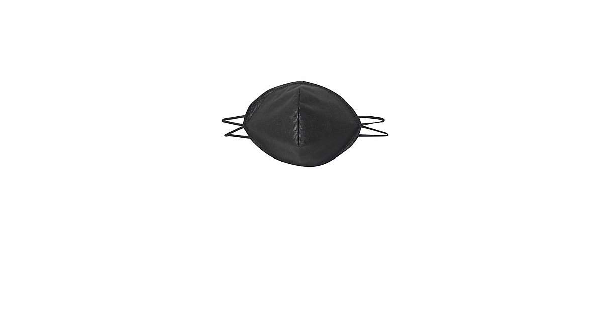 mund-nasen-maske 10er pack Schals schwarz Gr. one size